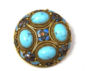 etsy, turquoise jewelry, and estate jewelry image