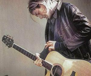 guitar, kurt cobain, and love image