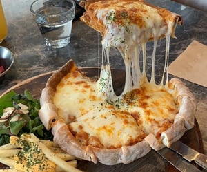 cheese, cheesy, and Chicken image
