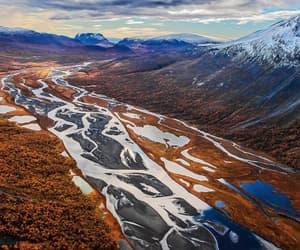 hiking, national park, and sverige image