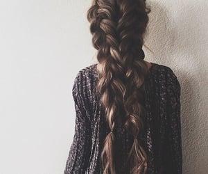 back, brunette, and festival image
