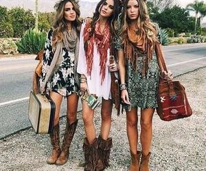 boho, fashion, and outfit image