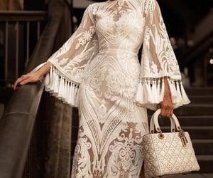 bag, dress, and luxury image