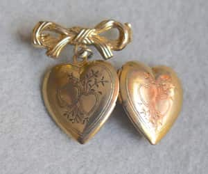 etsy, gift for her, and heart shaped image