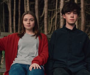 james, Alyssa, and alex lawther image
