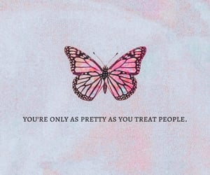 quotes, butterfly, and pink image