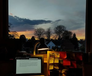 desk, essay, and inspiration image