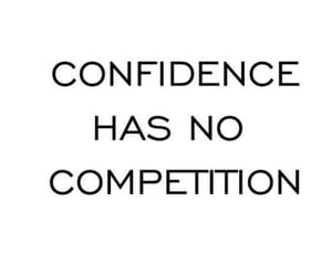 competition, confidence, and quotes image