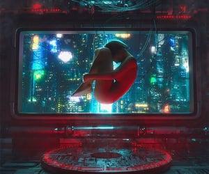 cyber and futuristic image