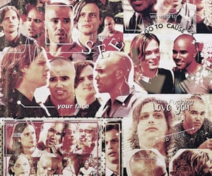 criminal minds, otp, and aesthetic image