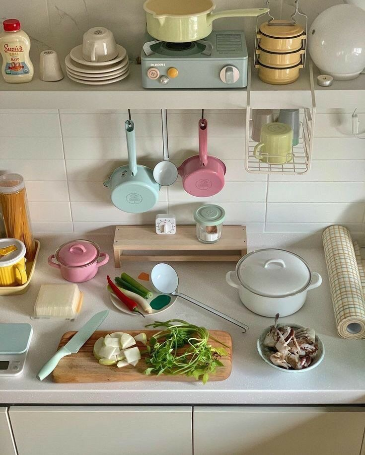 cooking, food, and kitchen image