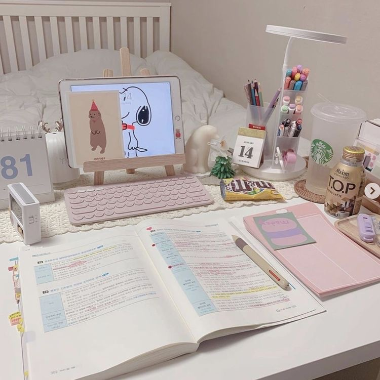 stationery and study image