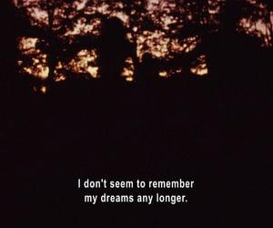 dreaming, dreams, and memories image