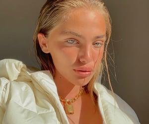 blonde, makeup, and natural makeup image
