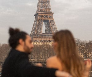 eiffel tower, french, and romantic image
