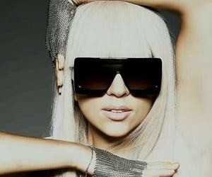 cool, mitten, and Lady gaga image