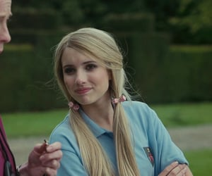 emma roberts, poppy moore, and screencaps image