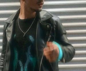 bad, dark, and leather jacket image