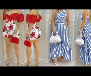 dresses, moda, and outfits image