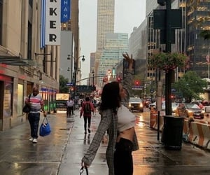 aesthetic, city, and girl image