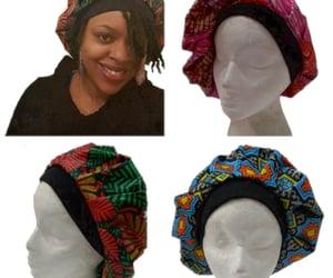 bonnets, ankara bonnets, and etsy image
