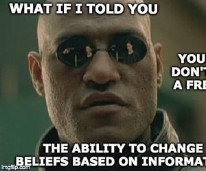 free thinker, your belierfs, and ability to change image