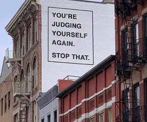 mental health, judging yourself, and stop that image