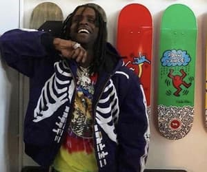 aesthetic, rappers, and chief keef image