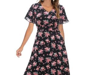 summer dress, beach dresses, and sundress image