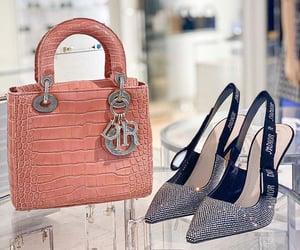 bag, diamond, and shoes image