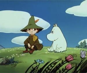 anime, アニメ, and snufkin image