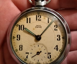 vintage watches, smith's watch, and smith's pocket watch image