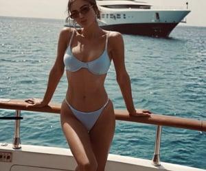 summer, bikini, and beautiful image