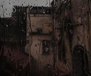 rain, aesthetic, and dark academia image