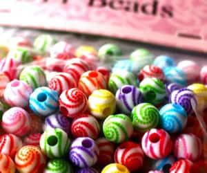 crafts, handmade, and beads image