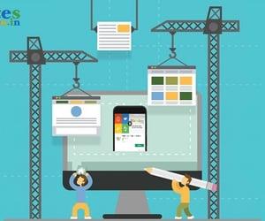 website builder, create a website, and website maker image