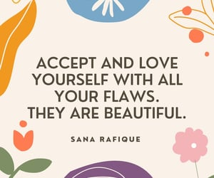 accept, self love, and special image