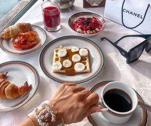 coffee and waffle image