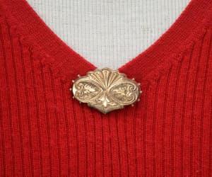 etsy, fleur de lis, and victorian brooch image