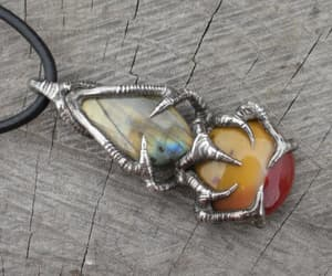 etsy, birthstone, and men necklace image