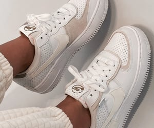 air force, beige, and shoes image