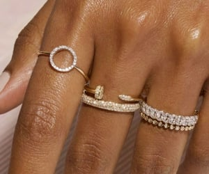 diamonds, gold, and jewelry image