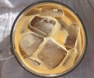 breakfast, coffee, and ice coffee image