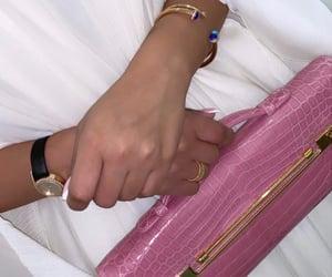 bag, rings, and womenswear image