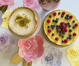 baking, cheesecake, and dessert image