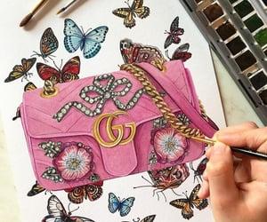 arte, bolso, and color image