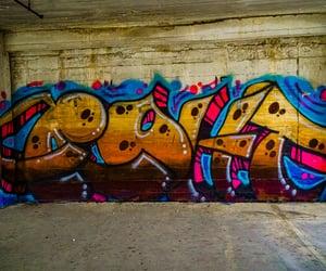 abandoned, graffiti, and urbex image