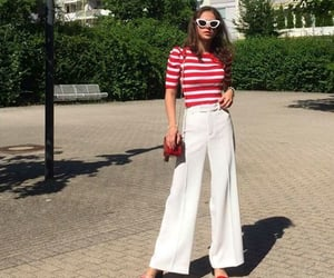 red shoes, french style, and boss woman image