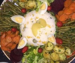 broccoli, food, and potato image