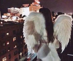 angel and woman image